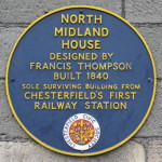 The sole building of Chesterfields first railway station