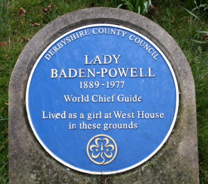 Olave Baden-Powell in her birthplace.