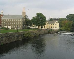 Slater Mill in Pawtucket, Rhode Island.- Author Forest J.Handford