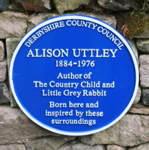 Alison Uttley's blue plaque